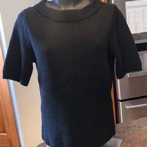 Talbots black sweater